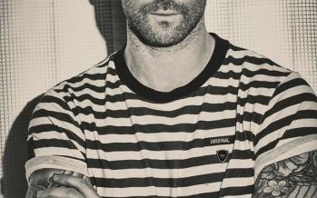 Adam Levine no Passeio da Fama