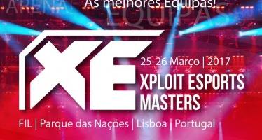 Bilhetes do Xploit eSports Masters já à venda