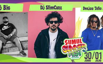Deejay Telio confirmado no Sumol Summer Fest