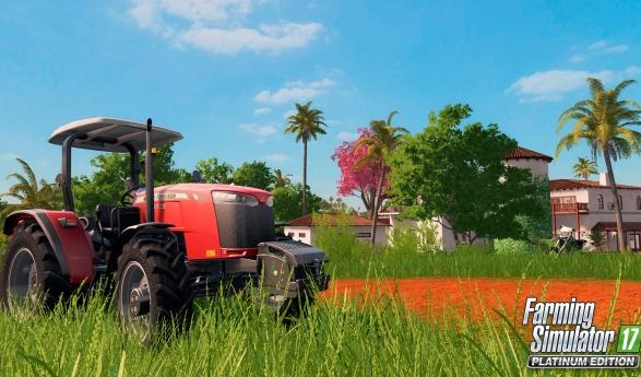 Anunciado Farming Simulator 17 Platinum Edition