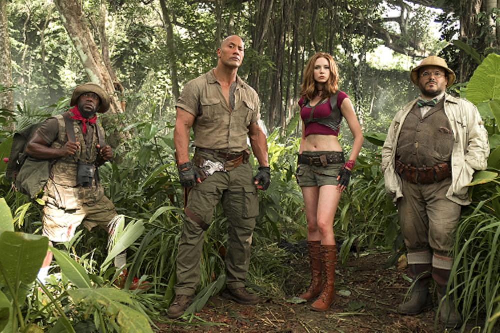 Jumanji - Bem-Vindos à selva!