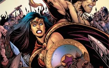 Mulher Maravilha e Conan, O Bárbaro, juntos!