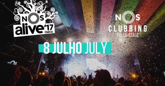 Nos Alive Clubbing 2017