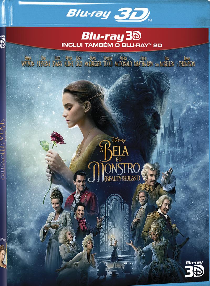 A Bela e o Monstro_DVD