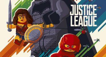 Liga da Justiça ganha poster em versão Lego