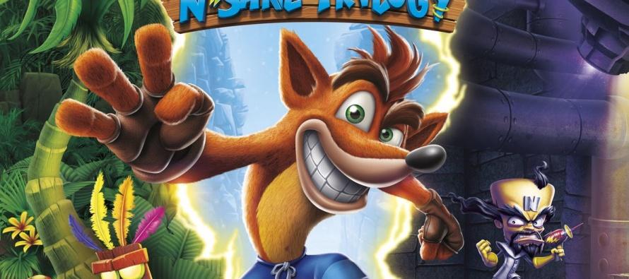 Crash Bandicoot atinge topo de vendas no Reino Unido