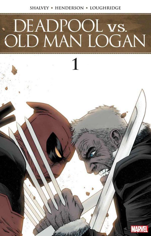 A Marvel irá lançar uma minissérie que coloca em confronto Deadpool e o velho Logan