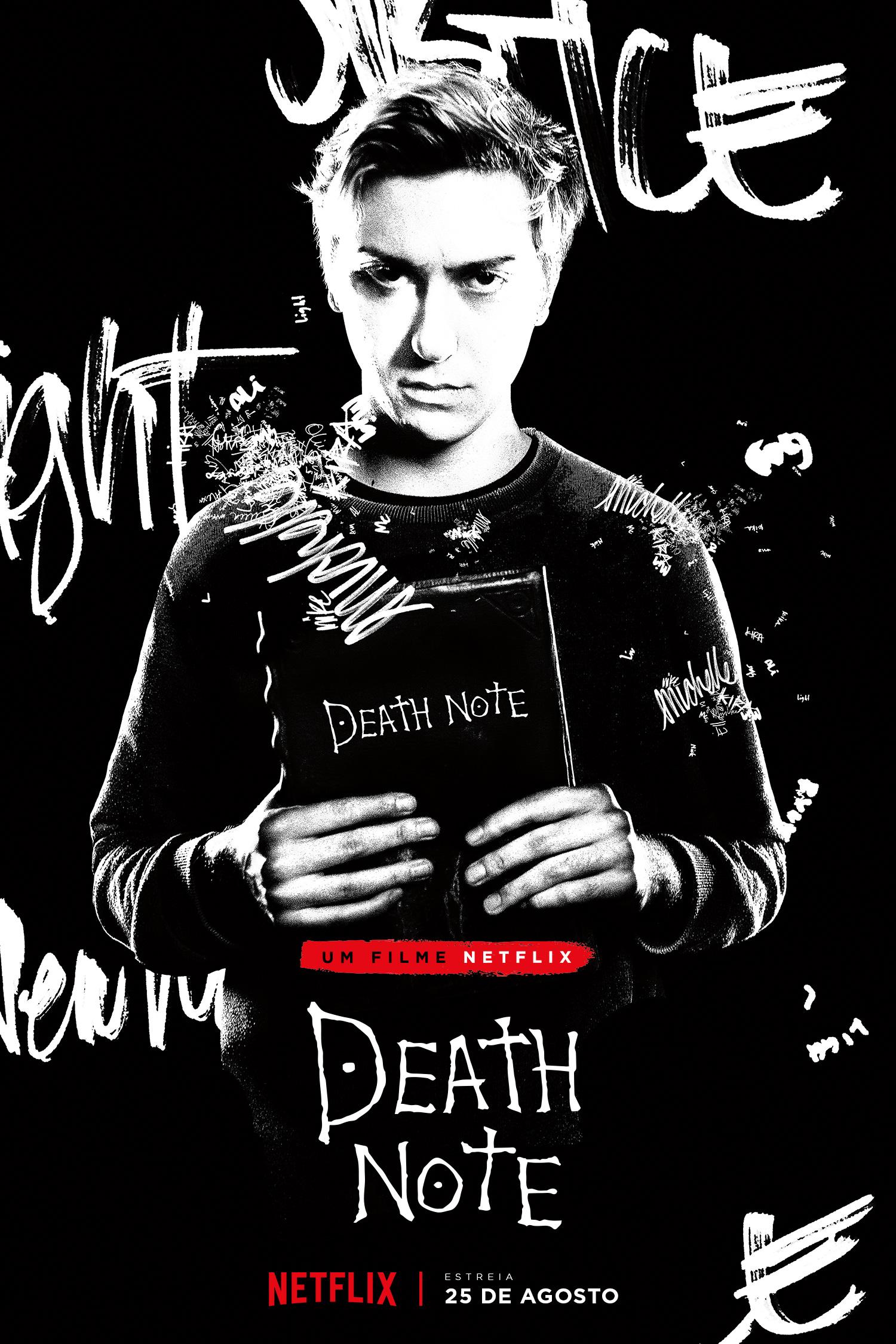 Netflix divulga nova cena da adaptação de Death Note onde Light conhece Ryuk