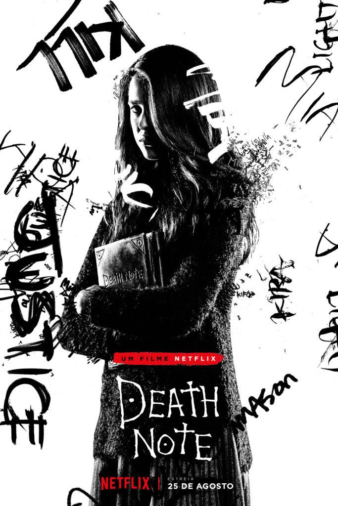 Foi revelado o poster oficial da personagem Mia Sutton, na adaptação para a Netflix de Death Note.