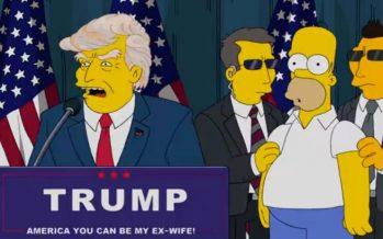 The Simpsons negam participação na série a Donald Trump