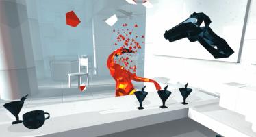 O caos sangrento de Superhot chega ao VR