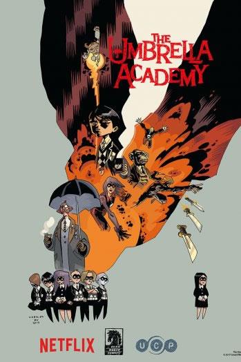 A Netflix anunciou que irá ser produzida uma série adaptada dos comics de Umbrella Academy