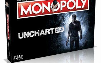 Uncharted ganha versão de jogo em tabuleiro Monopoly