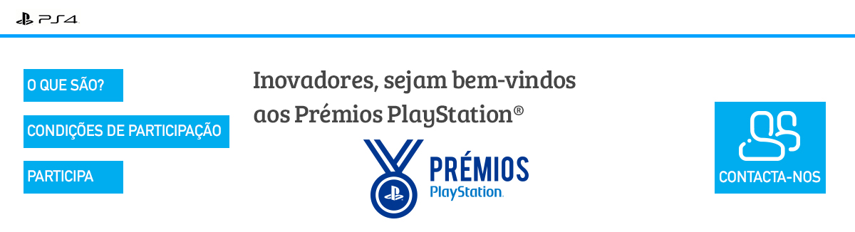 Prémios Playstation 4