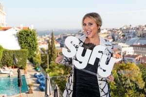 Cassie Scerbo em Lisboa