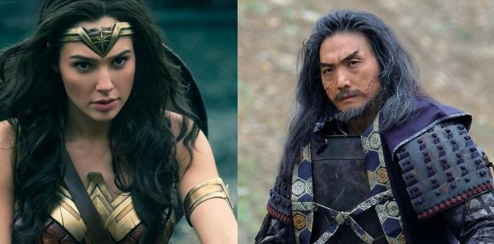 Bilheteira Sekigahara Vs Wonder Woman