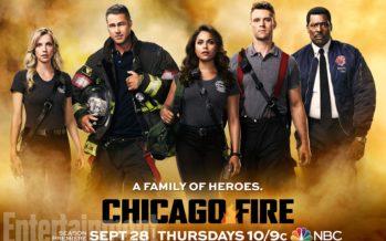 Divulgada nova imagem da série Chicago Fire