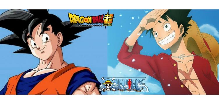 Crossover Luffy Goku