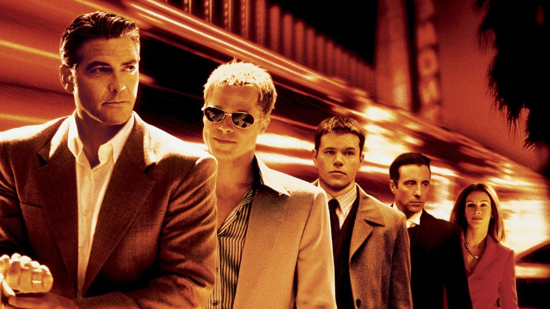 Ocean's Eleven - O primeiro filme da trilogia sobre os ases do Casino. Na FOX, às 16h.