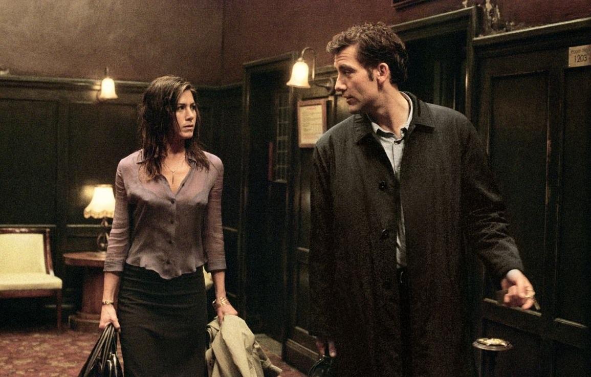 Pecado Capital - Clive Owen e Jennifer Aniston num filme de crime e drama. Às 23h05 na FOX.