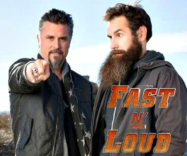 "A dupla Richard Rawlings e Aaron Kaufman vai estar junta em ""Fast N' Loud"", pela última vez"