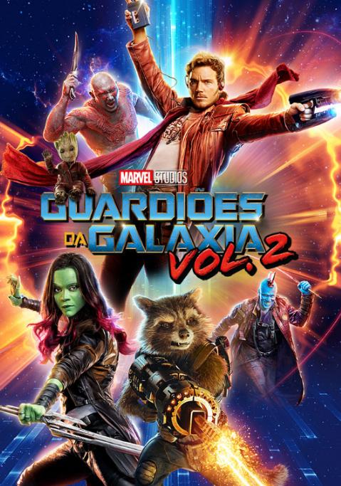 """Poster Oficial de """"Guardiões da Galáxia VOL.2"""", já disponível no videoclube NOS"""