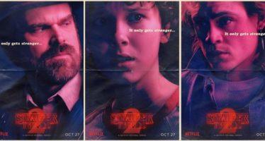 Stranger Things | Novos posters e novos personagens divulgados
