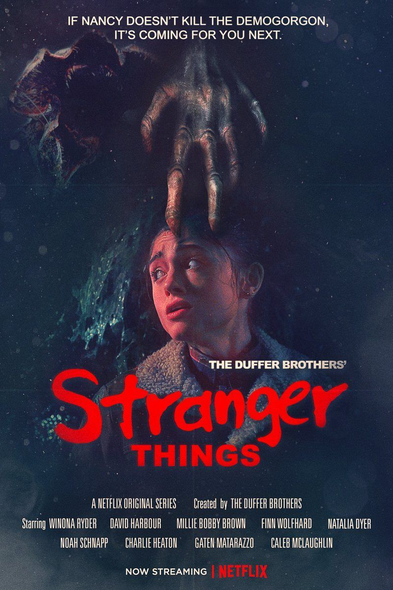 "Poster de ""Stranger Things"""