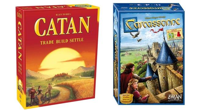 catan e carcassonne