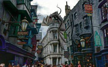 Nova diversão de Harry Potter a caminho do parque temático