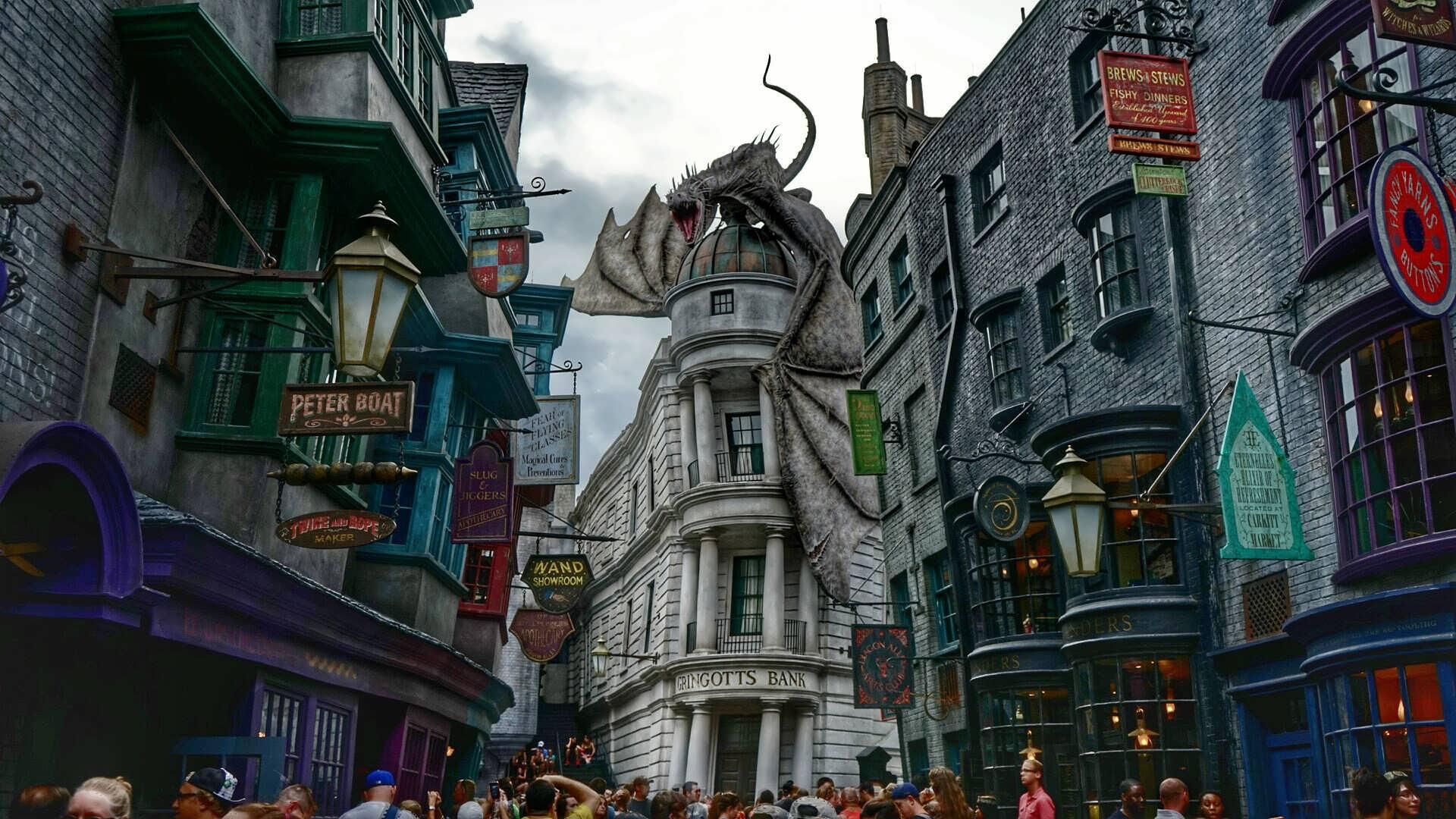 Nova diversão a caminho de parque temático de Harry Potter