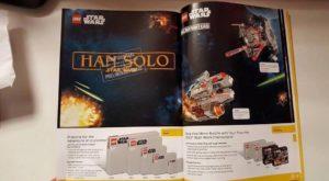 catálogo LEGO revela nome de filme Han Solo