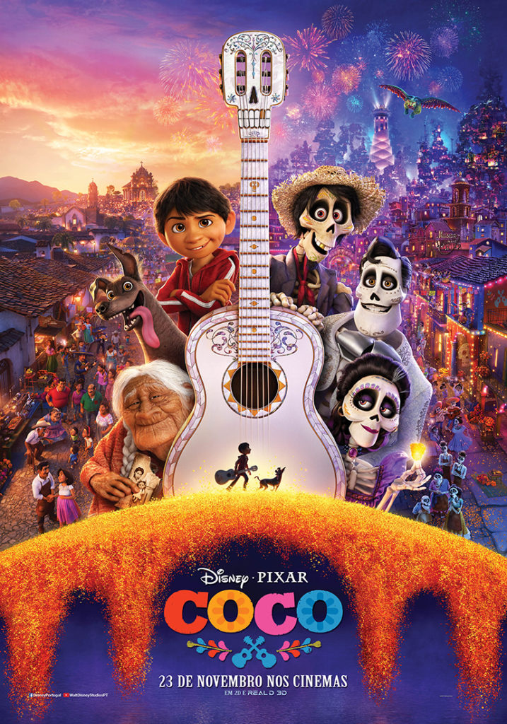 COCO novo trailer e poster