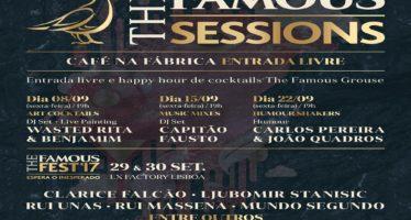 The Famous Sessions aquecem LX Factory com sessões