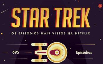 Estes são os episódios mais vistos de Star Trek na Netflix