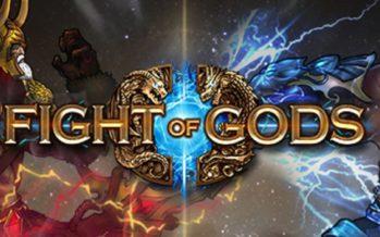 Podes lutar como Jesus Cristo em Fight of Gods