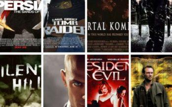 TOP 10 – Videojogos adaptados a filmes