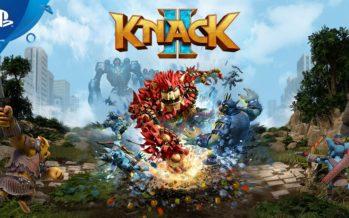 Gaming: Knack 2 chega hoje para a PlayStation 4