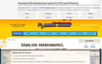 Gaming: os cinco melhores websites de Abandonware